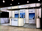 Booths 101 to 300 square feet