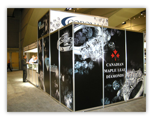 hardwall booth graphics