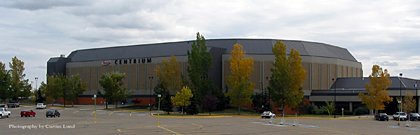 The ENMAX Centrium in Westerner Park, Red Deer, Alberta